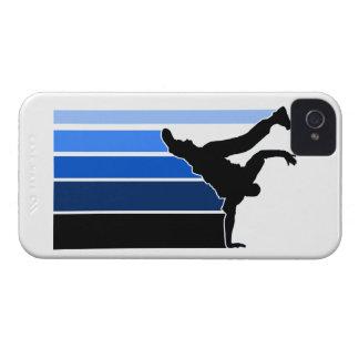 BBOY gradient blu/blk iPhone 4 case