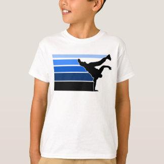 BBOY gradient blu blk kids T-Shirt
