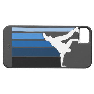 BBOY gradient blu/wht iPhone 5 case