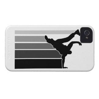 BBOY gradient gray/blk iPhone 4 case