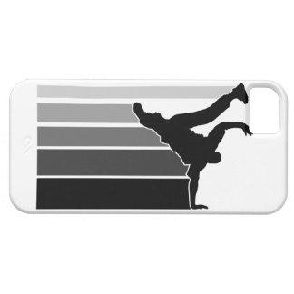 BBOY gradient gray/blk iPhone 5 case