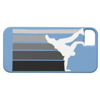 BBOY gradient gray/wht iPhone 5 case