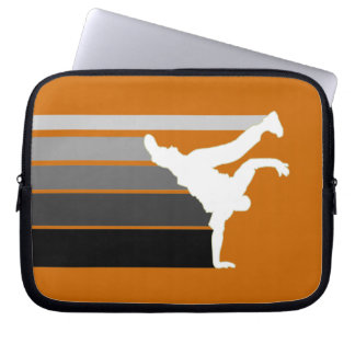 BBOY gradient grey wht laptop sleeve