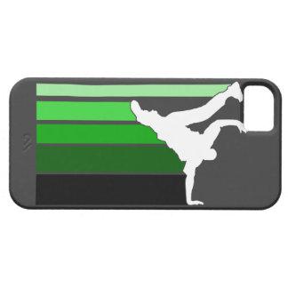 BBOY gradient grn/blk iPhone 5 case