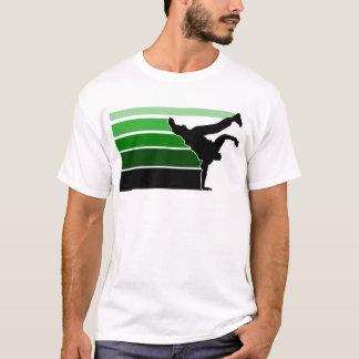 BBOY gradient grn blk T-Shirt