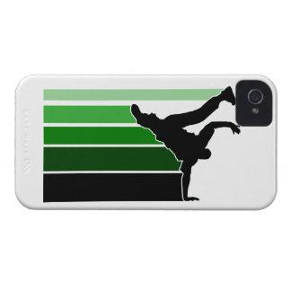 BBOY gradient grn/wht iPhone 4 case