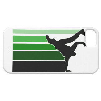 BBOY gradient grn/wht iPhone 5 case