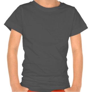BBOY gradient orange wht kids Tee Shirt