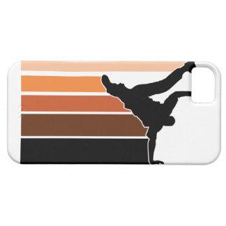 BBOY gradient orgn/blk iPhone 5 case