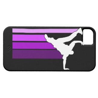 BBOY gradient purple/wht iPhone 5 case