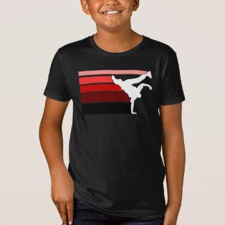 BBOY gradient red wht kids T-Shirt