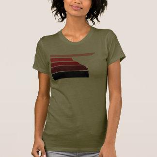 BBOY gradient red wht T Shirts