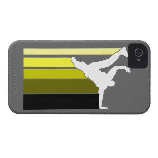 BBOY gradient yellow/wht iPhone 4 case