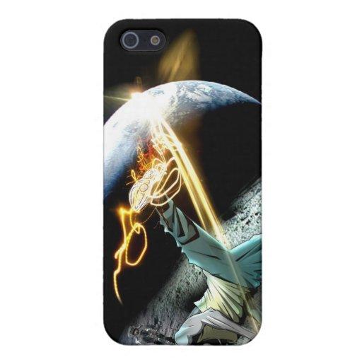 BBOY intergaláctico iphone4 iPhone 5 Protectores