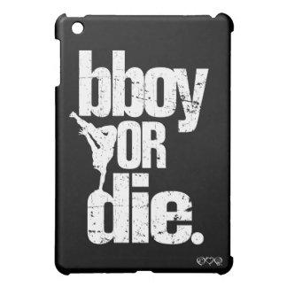 bboy o muere - el blanco apenado iPad mini protectores