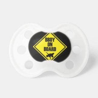 Bboy On Board Pacifier BooginHead Pacifier