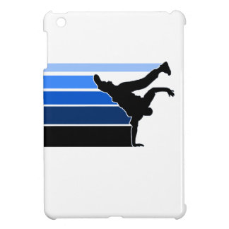 BBOY pose lines blu/blk iPad Mini Cover