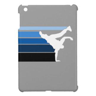 BBOY pose lines blu/wht Case For The iPad Mini