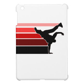BBOY pose lines red/blk Cover For The iPad Mini