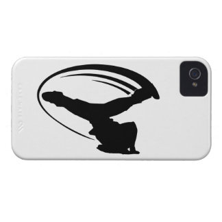 BBOY windmill blk iphone4s Case-Mate iPhone 4 Case