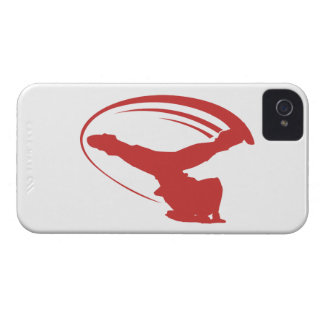 BBOY windmill red iphone4s iPhone 4 Case-Mate Case