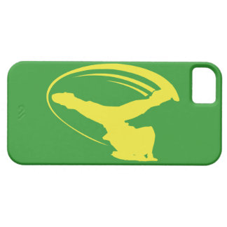 BBOY windmill yellow iphone iPhone 5 Cases