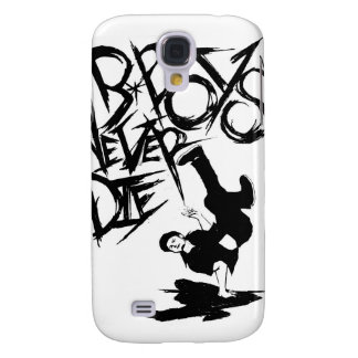 BBOYS NEVER DIE IPHONE CASE GALAXY S4 CASES