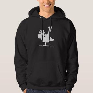 bboywhite hoodie