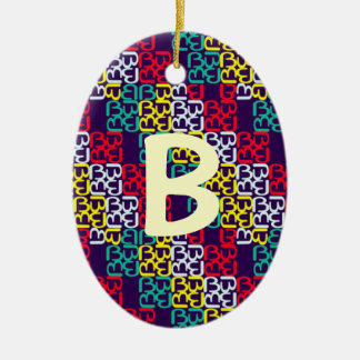 BbParade Assembled Brights Ceramic Ornament