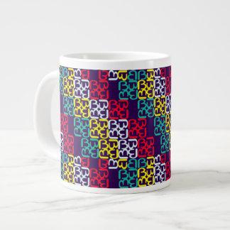 BbParade Assembled Brights 20 Oz Large Ceramic Coffee Mug