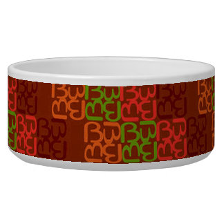 BbParade Red Earth Dog Water Bowl