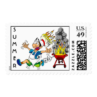 BBQ Accident - Commemorative Postage