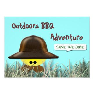 BBQ Adventure Custom Invitations