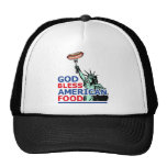 BBQ and grill idea: God Bless American Food, Hats
