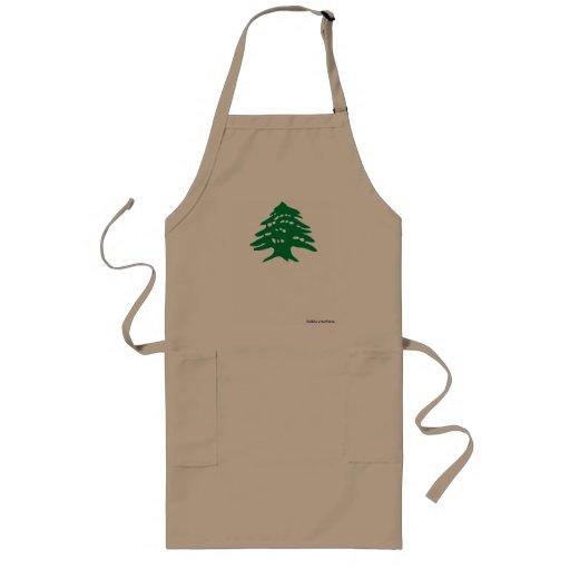 BBQ apron - Lebanese Cedar