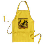 BBQ Apron: Motorbike & Bicycle Race