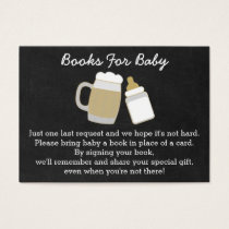 BBQ Baby Shower Book Request Cards