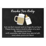 BBQ Baby Shower Book Request Cards Large Business Cards (Pack Of 100)