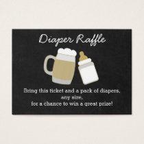BBQ Baby Shower Diaper Raffle Tickets
