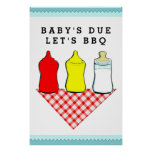 BBQ baby shower ideas Poster
