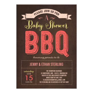 500 bbq baby shower invitations bbq baby shower announcements