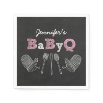 BBQ Baby Shower Napkins