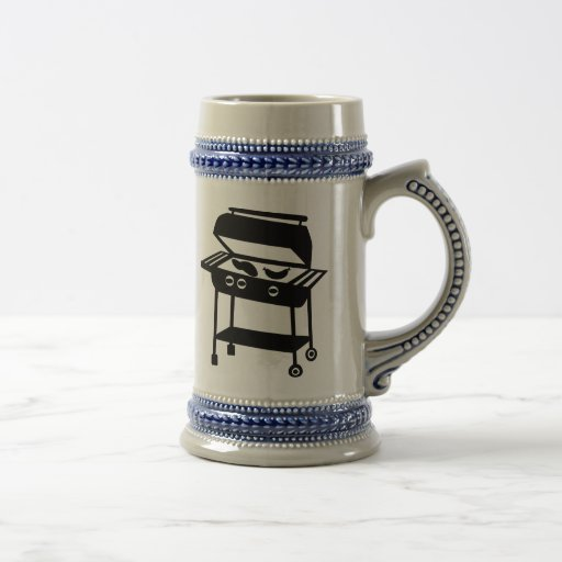 BBQ - Barbecue 18 Oz Beer Stein