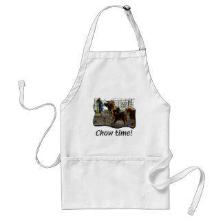 BBQ - Barbecue - Chow Time Adult Apron