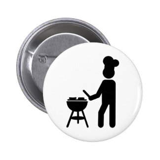 BBQ barbecue Cook chef Pin