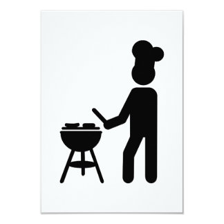 BBQ barbecue Cook chef Card