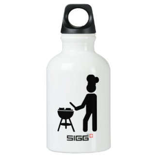 BBQ barbecue Cook chef Water Bottle