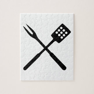BBQ barbecue Cutlery Puzzle
