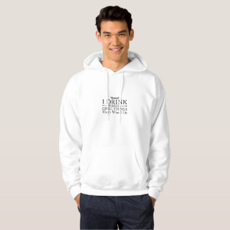 Bbq Barbecue Gift Funny I Drink And Grill Things Hoodie