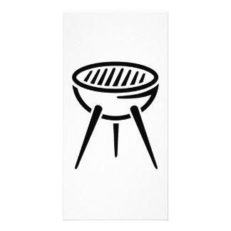 BBQ barbecue Custom Photo Card